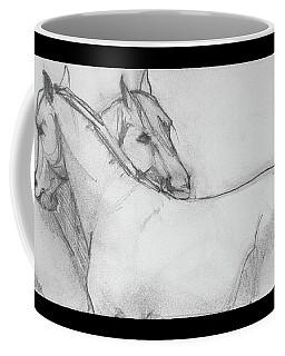 Dual Massage Sketch Coffee Mug by Jani Freimann