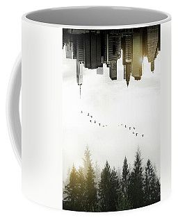 Coffee Mug featuring the photograph Duality by Nicklas Gustafsson