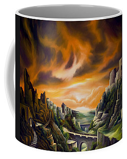 Duallands Coffee Mug by James Christopher Hill