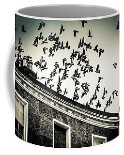 Flight Over Oscar Wilde's Hood, Dublin Coffee Mug