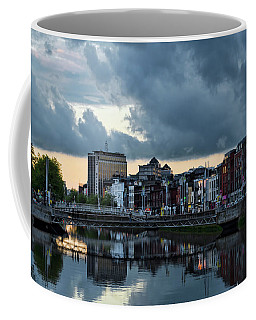 Dublin Sky At Sunset Coffee Mug