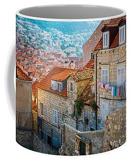 Dubrovnik Clothesline Coffee Mug