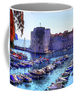 Dubrovnik Harbour Coffee Mug