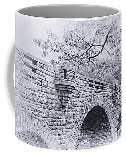 Duck Brook Bridge In Black And White Coffee Mug