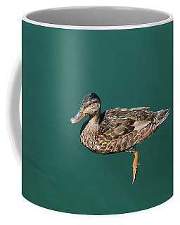 Duck Floats Coffee Mug