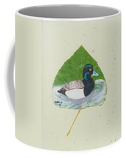 Duck On Pond #2 Coffee Mug
