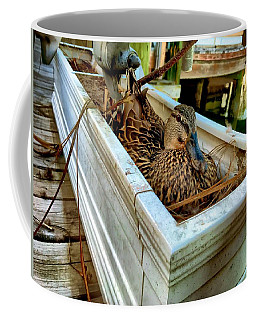 Duck On The Dock Coffee Mug