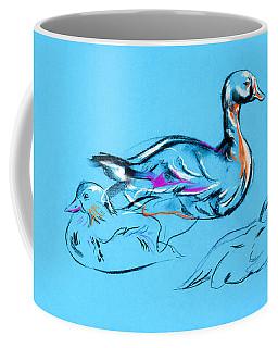 Duck Painting  By Ivailo Nikolov Coffee Mug
