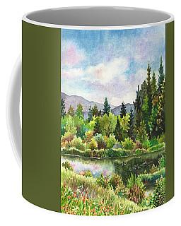 Duck Pond At Caribou Ranch Coffee Mug