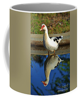 Duck Twice Coffee Mug by Craig Wood
