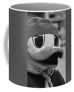 Coffee Mug featuring the photograph Ducking Around by Laddie Halupa