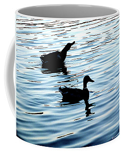 Ducks In The Evening Coffee Mug