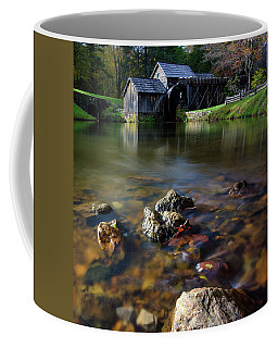 Ducks View Of Mabry Mill Coffee Mug