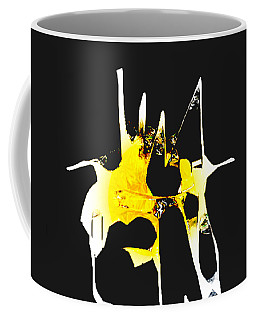 Coffee Mug featuring the digital art Duel by Asok Mukhopadhyay