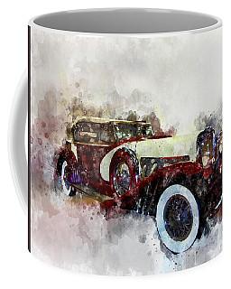 Duesenberg Watercolor Coffee Mug