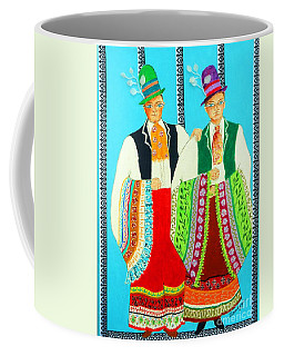 Duet -- #5 Hungarian Rhapsody Series Coffee Mug