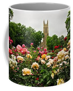 Duke Chapel And Roses Coffee Mug