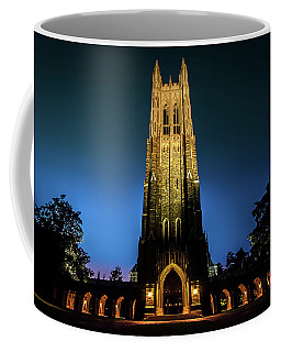 Duke Chapel Lit Up Coffee Mug
