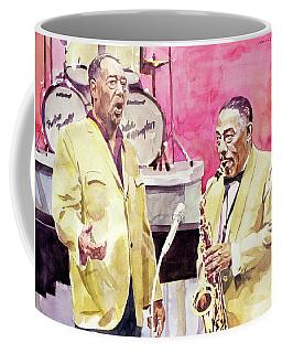Duke Ellington And Johnny Hodges Coffee Mug