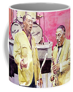 Duke Ellington And Johnny Hodges Coffee Mug