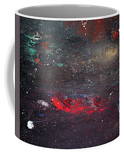 Coffee Mug featuring the painting Dulaity by Michael Lucarelli