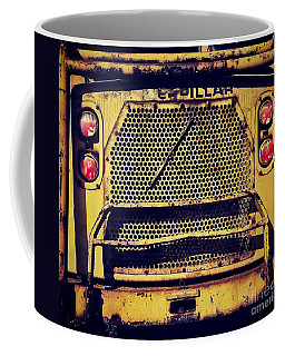 Dump Truck Grille Coffee Mug