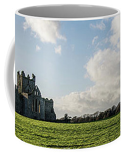 Dunbrody Abbey Coffee Mug by Martina Fagan