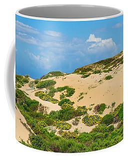 Dune Flowers Coffee Mug by Derek Dean