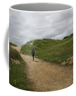 Dune Path Coffee Mug by Michael Friedman