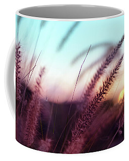 Coffee Mug featuring the photograph Dune Scape by Laura Fasulo