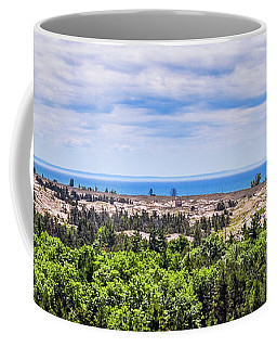 Dunes Along Lake Michigan Coffee Mug