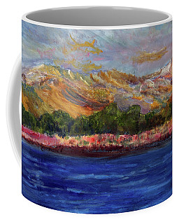 Dunes At Pilgrim Lake Coffee Mug