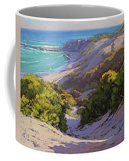 Dunes At Soldiers Beach Coffee Mug