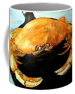 Dungeness For Dinner Coffee Mug by Carol Grimes