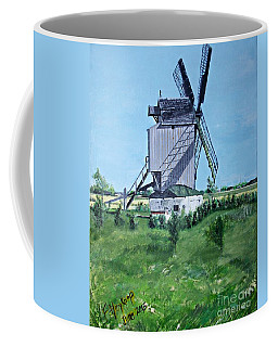 Dunkerque Windmill North Of France Coffee Mug