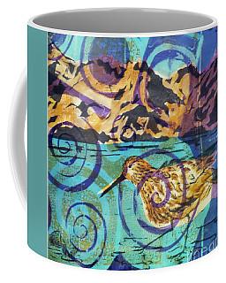 Dunlin On Mudflats Coffee Mug