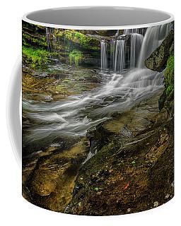 Dunloup Creek Falls Coffee Mug