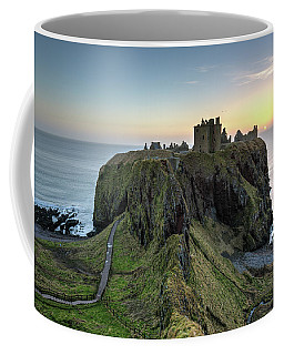 Dunnottar Castle At Sunrise Coffee Mug