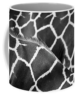 Duo Giraffe Pattern Bw Coffee Mug