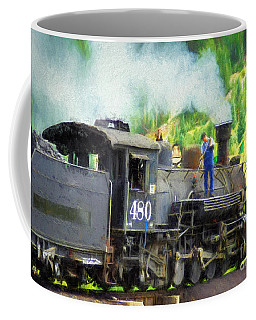 Durango And Silverton 480 Coffee Mug