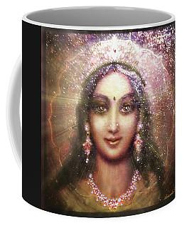 Durga In The Sri Yantra 3 Coffee Mug