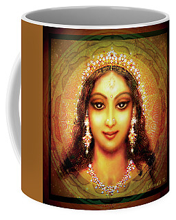 Durga In The Sri Yantra Coffee Mug