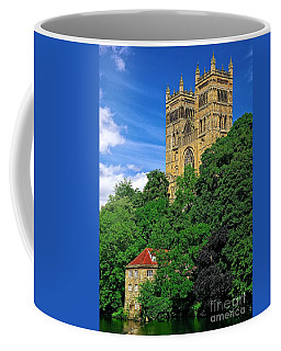 Durham Cathedral And Wool Mill Coffee Mug