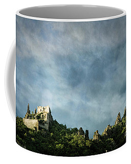 Coffee Mug featuring the photograph Durnstein Castle by Scott Kemper