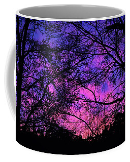 Dusk And Nature Intertwine Coffee Mug