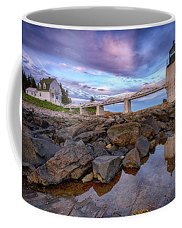 Coffee Mug featuring the photograph Dusk At Marshall Point by Rick Berk
