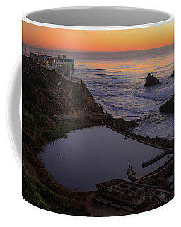 Dusk At Sutro Baths Coffee Mug