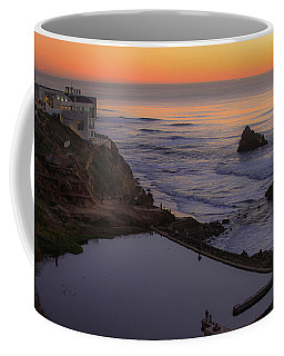 Dusk At Sutro Baths Coffee Mug