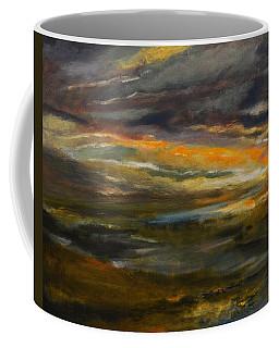 Dusk At The River Coffee Mug
