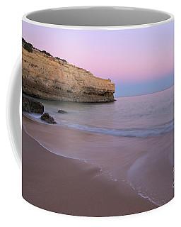 Dusk In Albandeira Beach Coffee Mug